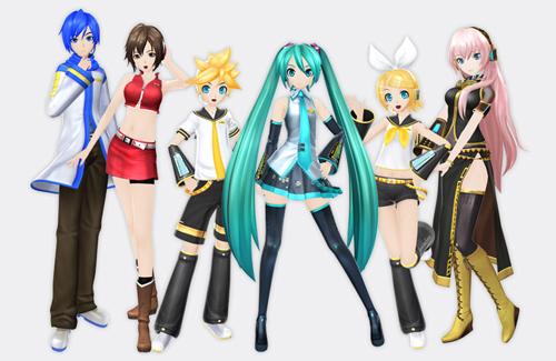 Project modules - Hatsune miku project diva ...