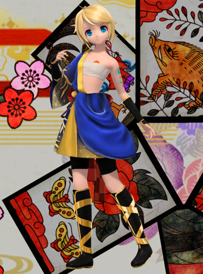 Divas rain and projects on pinterest - Kagamine rin project diva ...